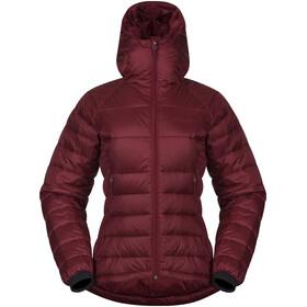 Bergans Slingsby Naiset takki w/ Hood , punainen